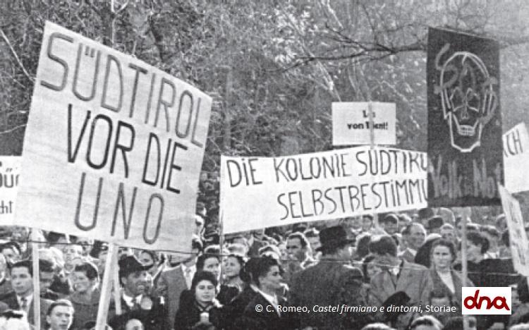 Primi anni '50: la difficile relazione fra Trentino e Alto Adige
