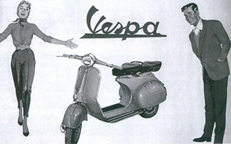 Le motociclette degli anni '50