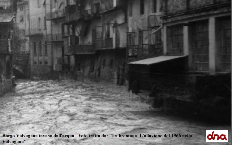 L'alluvione del 1966 nelle valli del Trentino
