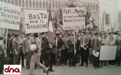Il movimento terroristico negli anni '60