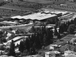 Insediamento industriale Borgo Valsugana - Arichivio storico fotografico della Provincia autonoma di Trento