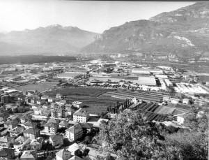Zona industriale di Rovereto - Arichivio storico fotografico della Provincia autonoma di Trento