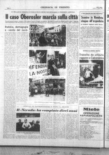 """Alto Adige"", 13 marzo 1978"