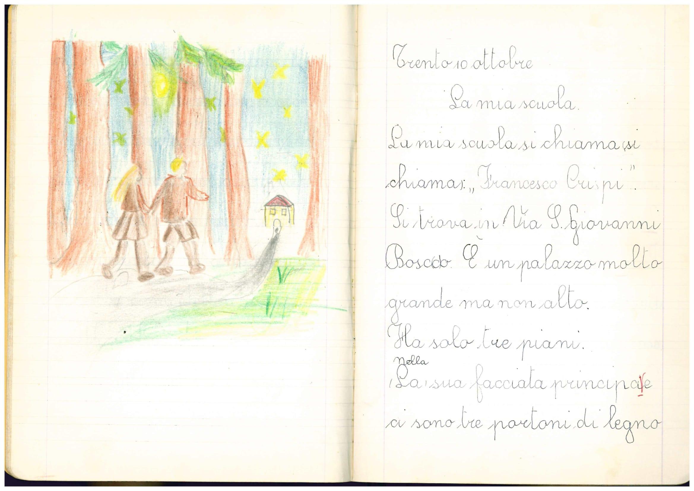 b8bf2a018a La scuola anni '60 #dnatrentino - DNA Trentino - Dai Nostri Avi ...