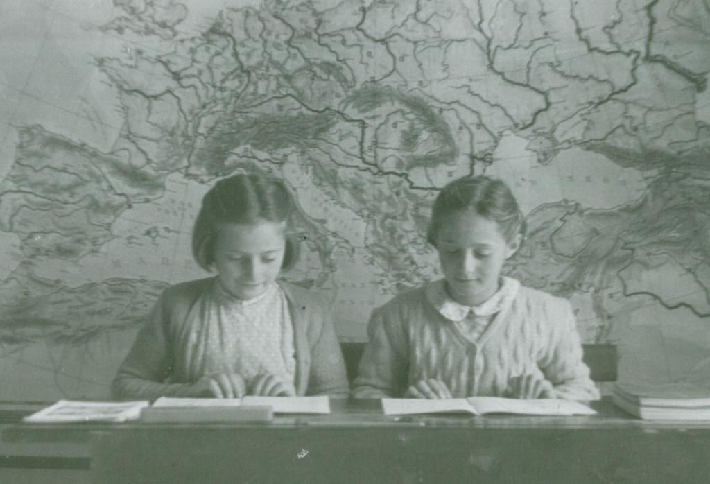 la scuola trentina negli anni '50
