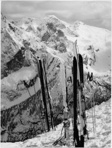 La passione per lo sci © Archivio Fotografico Storico della Provincia Autonoma di Trento