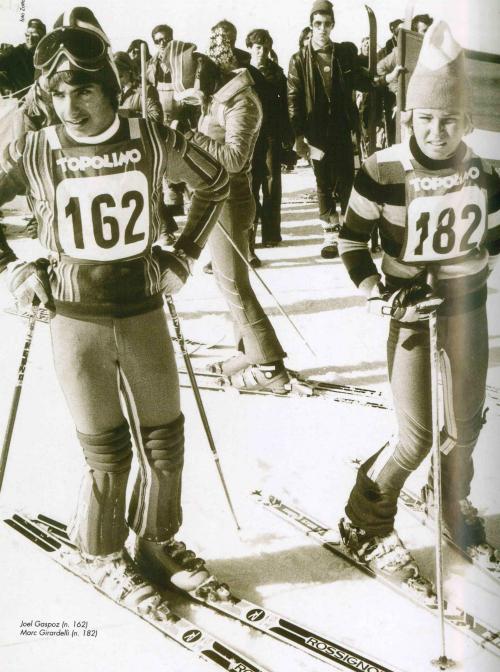 """Foto Zotta, tratta da """"Dal 1958: Trofeo Topolino, sci alpino"""" di F. Sandri"""